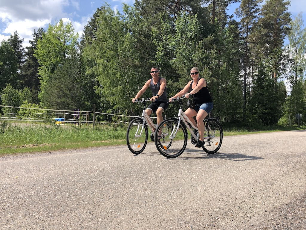 Cykelpaket hos Hedenstugan
